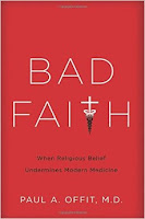 Book cover of Bad Faith by Dr Paul Offit
