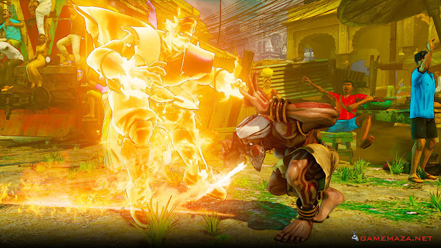 Street Fighter V Gameplay Screenshot 4