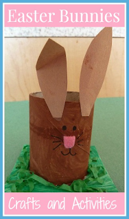 Easter Bunny crafts, activities and resources for toddlers