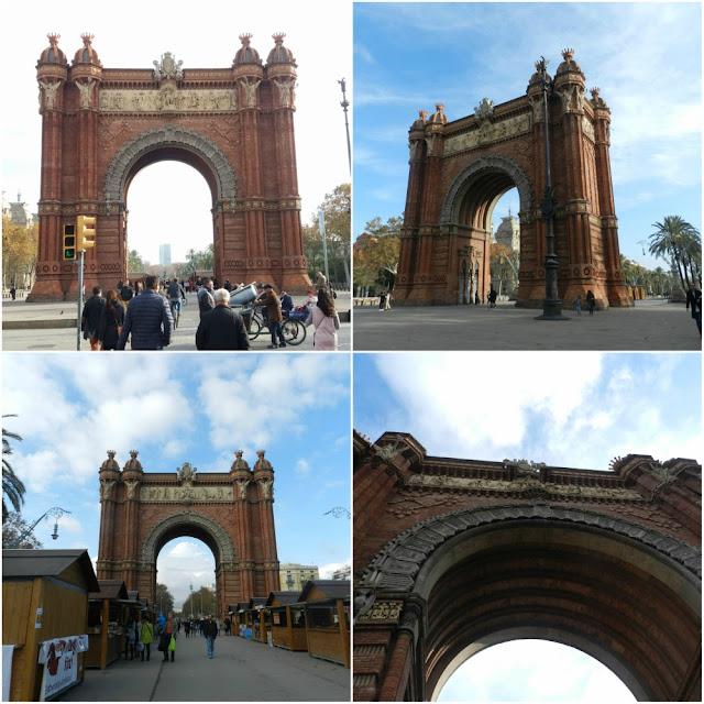 Arc de Triomf e Parc de la Ciutadella em Barcelona