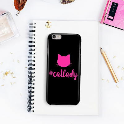 #catlady iPhone case