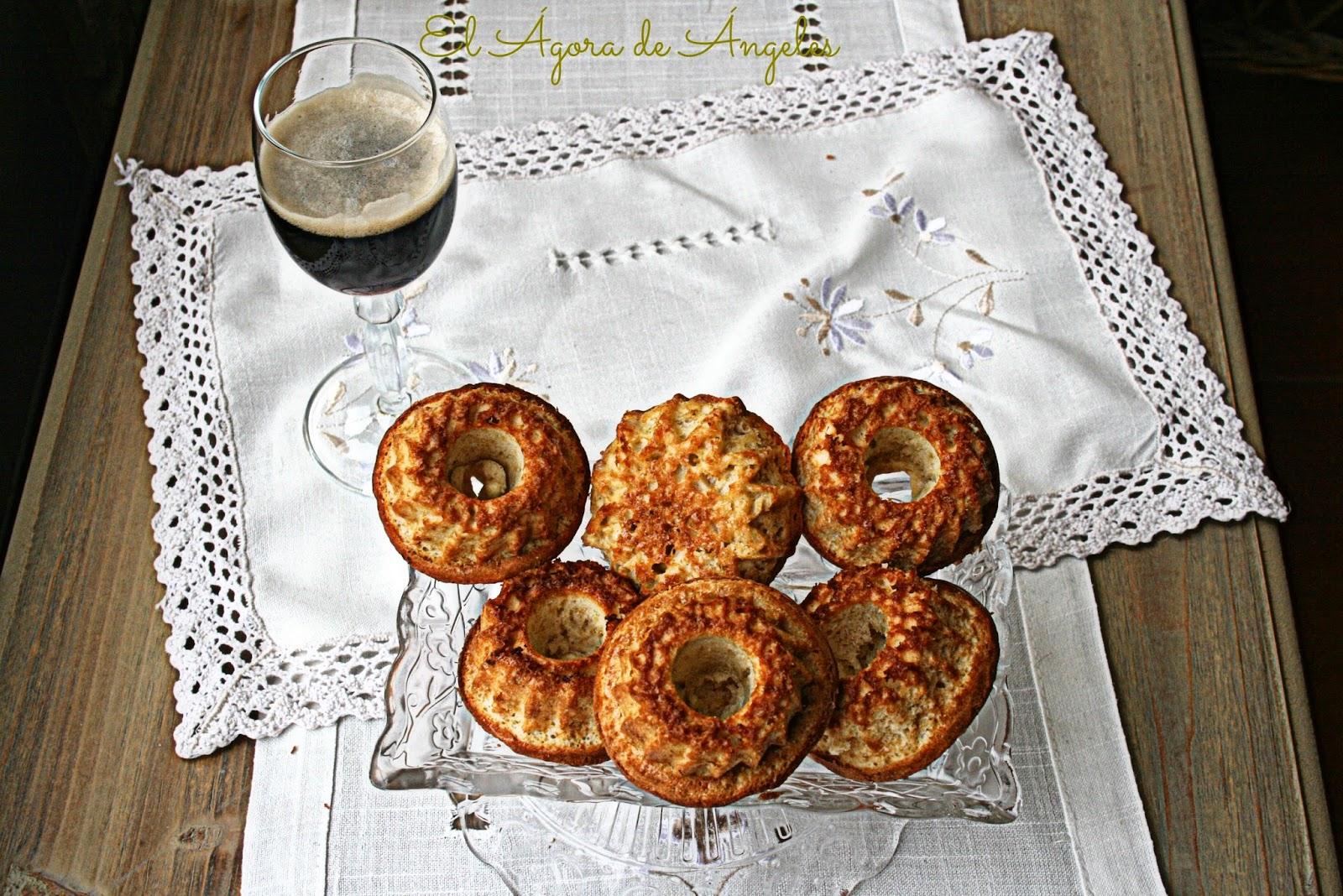 bizcochitos de cerveza negra, canela, desayuno, merienda,regalo