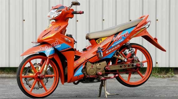 Modifikasi Motor Absolute Revo