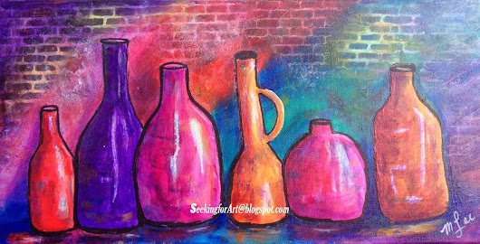 Painting Bottles