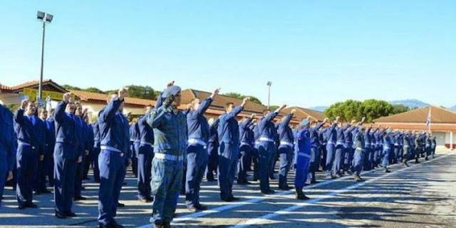 Παρουσιάζονται στρατεύσιμοι από την Αργολίδα στην Πολεμική Αεροπορία με την 2020 Δ' ΕΣΣΟ