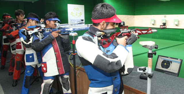 Olympic level shooting range inaugurated at the Manav Rachna campus