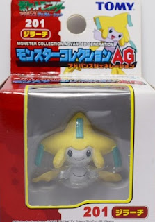 Jirachi figure Tomy Monster Collection AG series