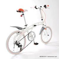 3 Sepeda Lipat Doppelganger 213 Bellissimo 20 Inci