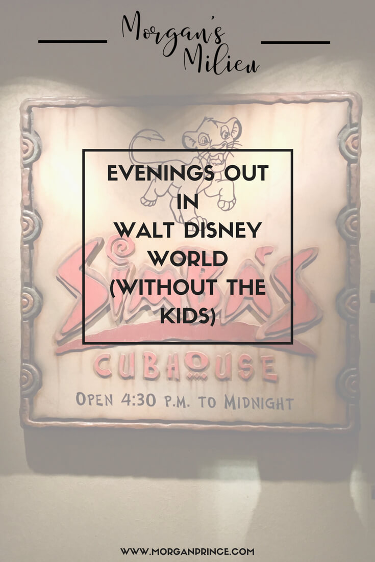 It's easy to get an evening out in Walt Disney World (without the kids) when you know how.