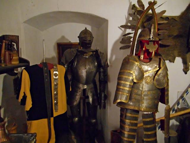 zbroja, muzeum, strój, rycerz
