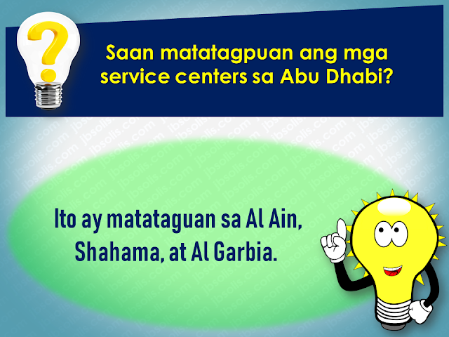 Filed under the category of Abu Dhabi, Al Ain, consulates, Crackdown, Dubai, Embassies, Emirati population, EXPATRIATES, Filipinos in the UAE, illegal residency, illegal residents, ofw, overseas Filipinos workers, United Arab Emirates  There are almost 700,000 overseas Filipinos workers (OFW) living in the United Arab Emirates (UAE), 450,000 of which live in Dubai comprising 21.3% of the total population of Dubai. It is the largest population of Filipinos in the UAE, followed by Abu Dhabi and Al Ain. OFWs in the UAE sent over US$500 million in remittances to the Philippines. The UAE is home to over 200 nationalities. Emirati population is only about 20% of the total population.   To address illegal residency issues, the UAE government is giving amnesty to the expatriates, giving them a chance to correct their residency status before the anticipated crackdown on illegal residents. The amnesty 3-month amnesty period will begin on August 1 until October 31 this year.  Embassies and various consulates representing the expatriates are also expected to coordinate with its nationals during the amnesty period.  Advertisement         Sponsored Links         Expatriates who are staying illegally in the UAE are encouraged to apply for the amnesty. For more information and guidance about what the amnesty is all about and how to avail of it, please check out these useful questions and answers concerning the amnesty to be given to the expats who have issues with their residency in the Gulf state.  1. What is the duration of the amnesty?  Residents can avail of the amnesty for three months from August 1 to October 31  2. Who are the people eligible for amnesty?  The individuals who are staying illegally in the country can apply for amnesty.  3.  What are the two options available for illegal residents under amnesty? Those who wish to exit the country can go back to their home countries without paying fines or facing a jail term. Or individuals can regularise their status by gettin