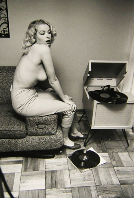 Famous People With Vinyl  vintage everyday
