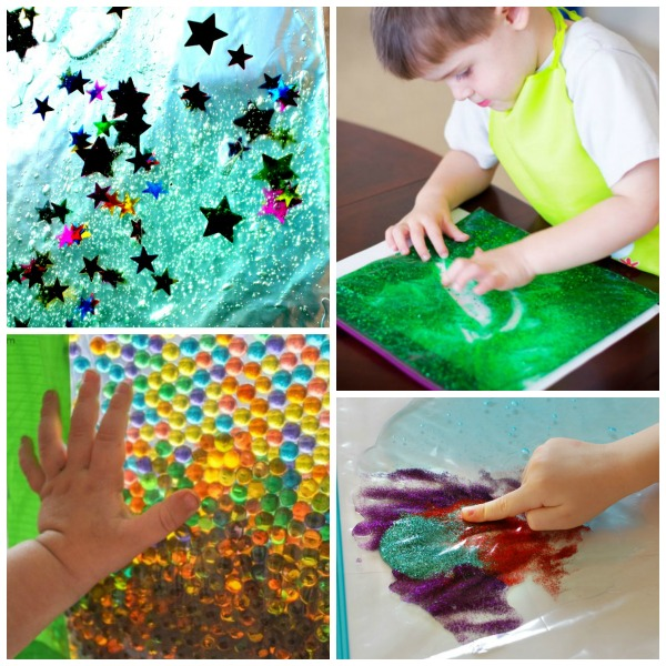 50 MUST-TRY SENSORY BAGS FOR KIDS!  So many awesome ideas!  I can't wait for Summer now!