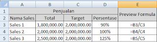 Persentase dalam matematika merupakan sebuah angka atau perbandingan yang menyatakan pecah Cara Menghitung Persentase di Excel