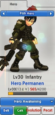 Infantry Evolution Lost Saga Indonesia