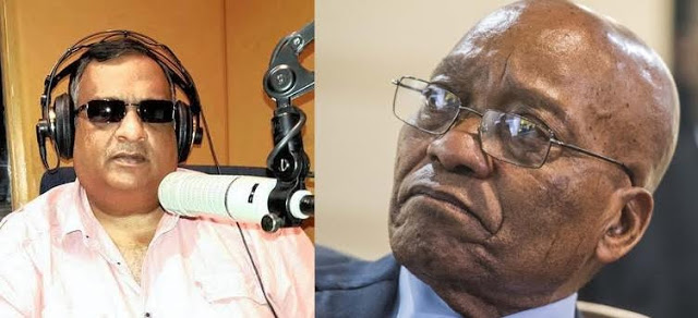 South African journalist sacked for calling President Zuma a 'zombie'