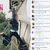 Aksi Gadis Tudung Panjat Papan Tanda 'Ipoh' Dikecam Netizen