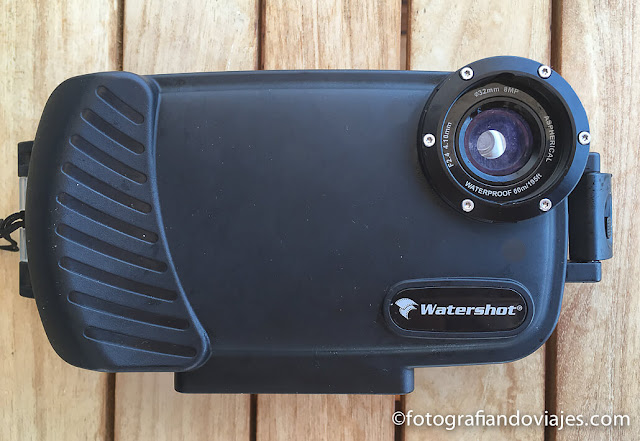 carcasa de buceo watershot para iPhone