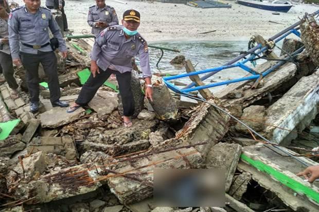 2 Korban Gempa 7,0 SR Ditemukan Tewas Terhimpit Bangunan di Gili Trawangan