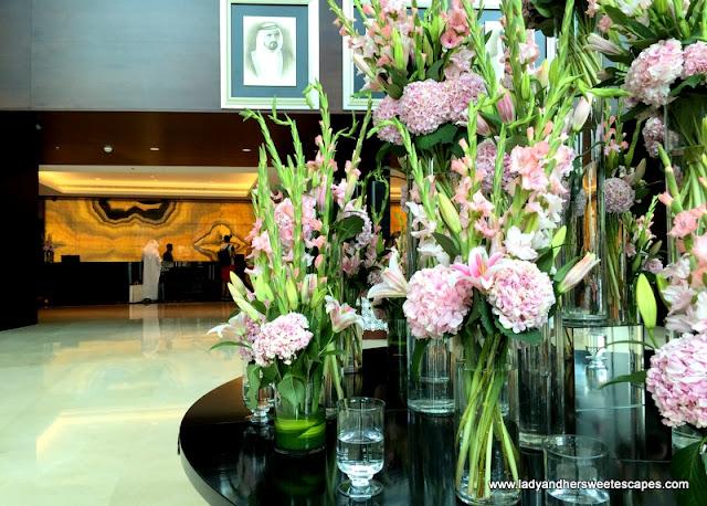 JW Marriott Marquis Dubai hotel lobby