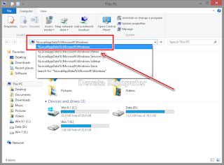 Gambar 1 - Cara Mengembalikan Start Screen Windows 8/8.1 ke Keadaan Awal