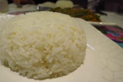 Baba Wins' Peranakan Cuisine, rice