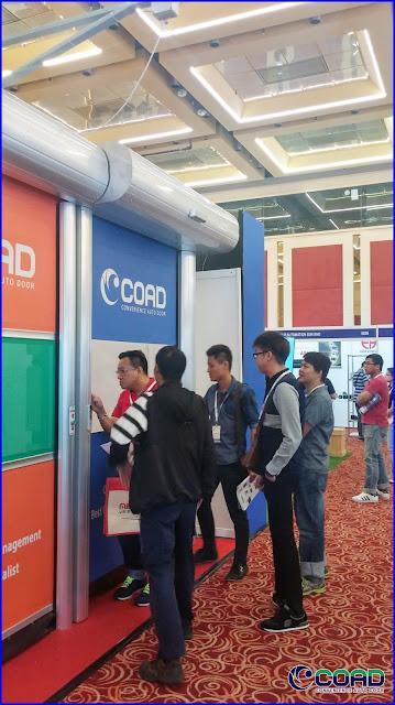 COAD, HIGH SPEED DOOR, RAPID DOOR, ROLL UP DOOR, ROLLING UP DOOR, ROLLING SHUTTER, ROLL UP SHUTTER, INDUSTRIAL DOOR, KOREA, JAPAN, INDONESIA, MALAYSIA, THAILAND, VIETNAM, AUTOMEX, AUTOMEX2017