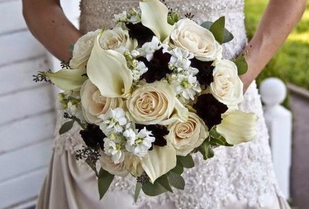 Wedding bouquet ideas 30 ideas of black and white wedding bouquet black and white calla lily wedding bouquets mightylinksfo