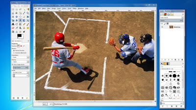 edit photo - GIMP