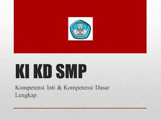 KI KD Kurikulum 2013 SMP
