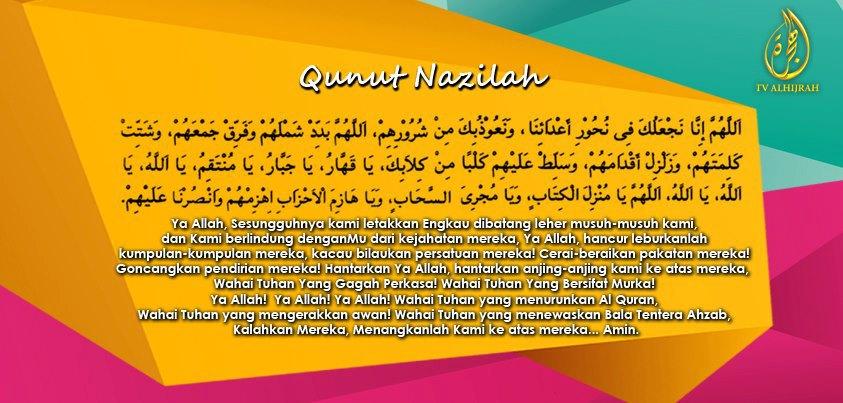 Doa Qunut Nazilah tv al hijrah