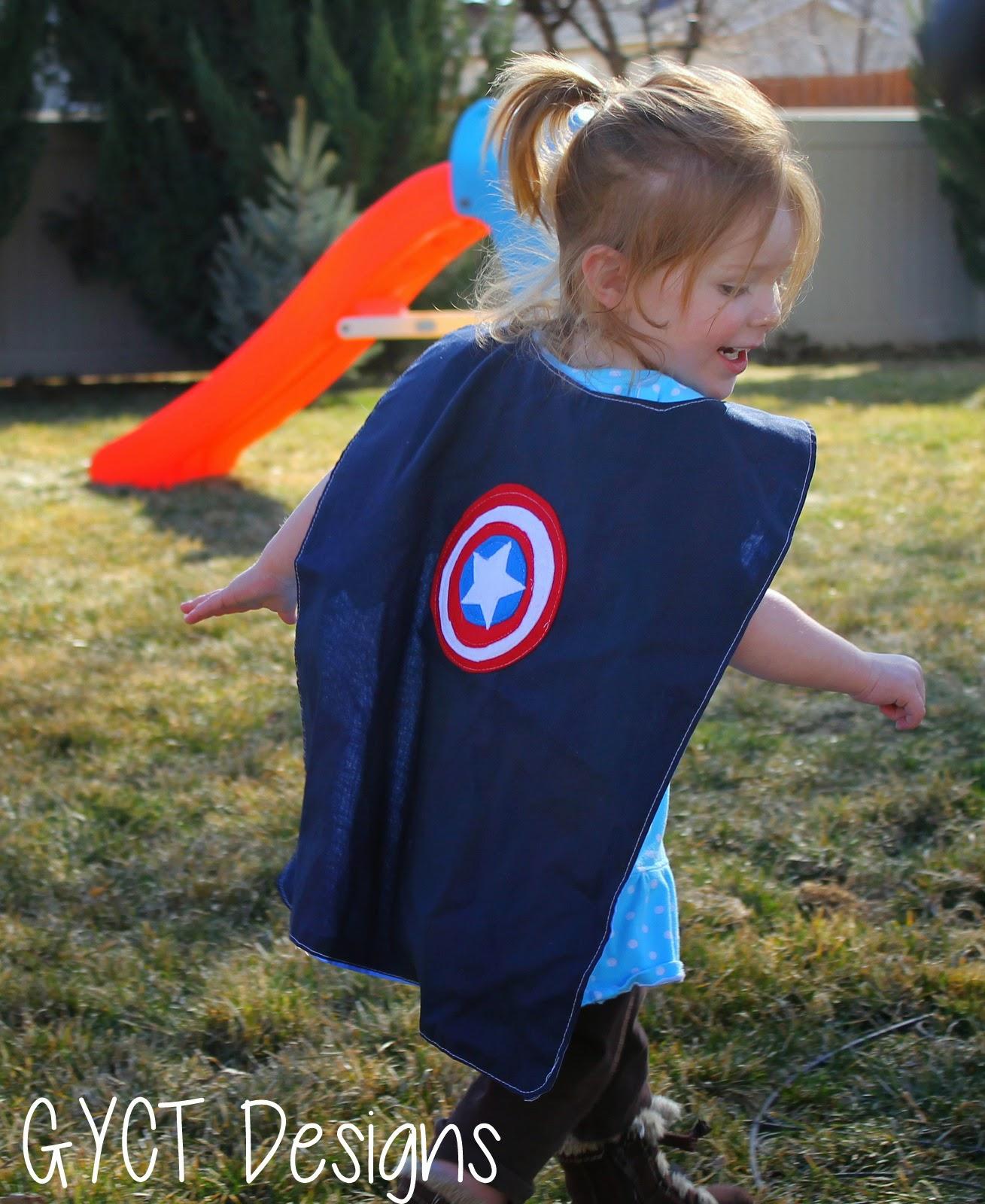free super cape pattern
