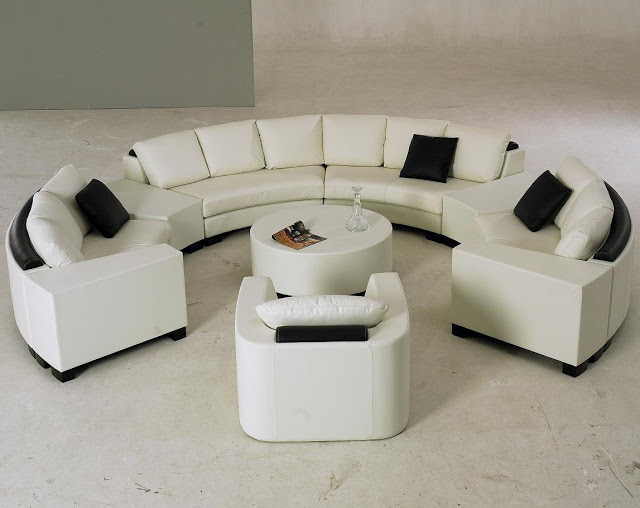 Latest Semi Circle Sofa Wallpaper