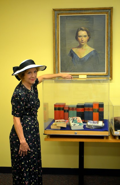 Sally Smith, AKA Margaret Mitchell, Atlanta Movie Tours, Central Library