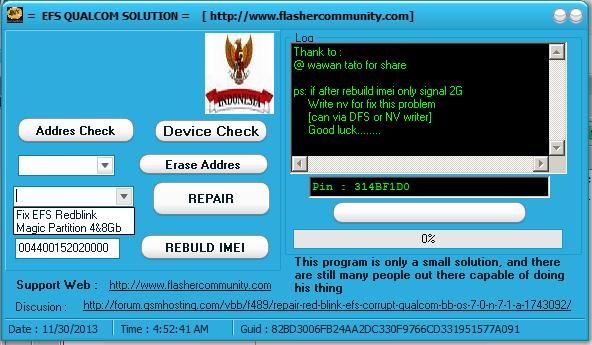 REPAIR RED BLINK , EFS CORRUPT ON QUALCOM , BB OS 7 0 N 7 1