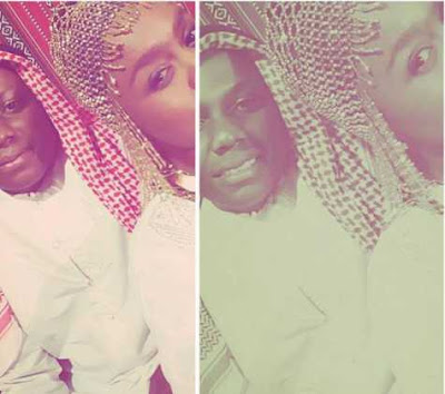 Photos Of Kenyan Songstress Avril Nyambura And His South African Boyfriend Having Fun In Dubai