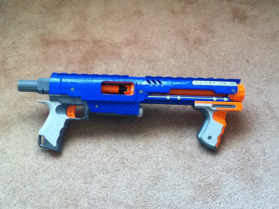 Outback Nerf Nerf Raider Cs 35 Review