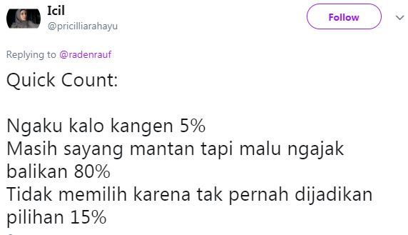 10 Meme Lucu 'Quick Count' Ini Bikin Gagal Move On