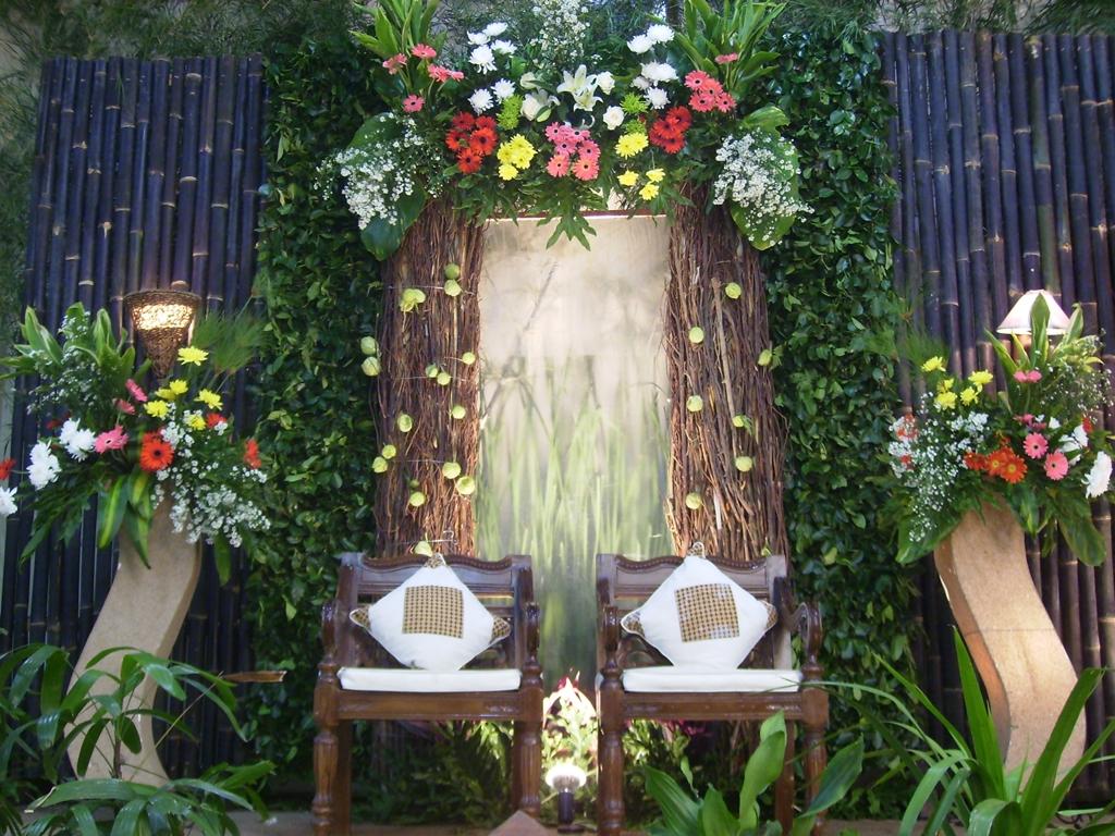 Photo Pelaminan Rumah | Paket Pernikahan Murah, · Perlengkapan Pesta · Katering