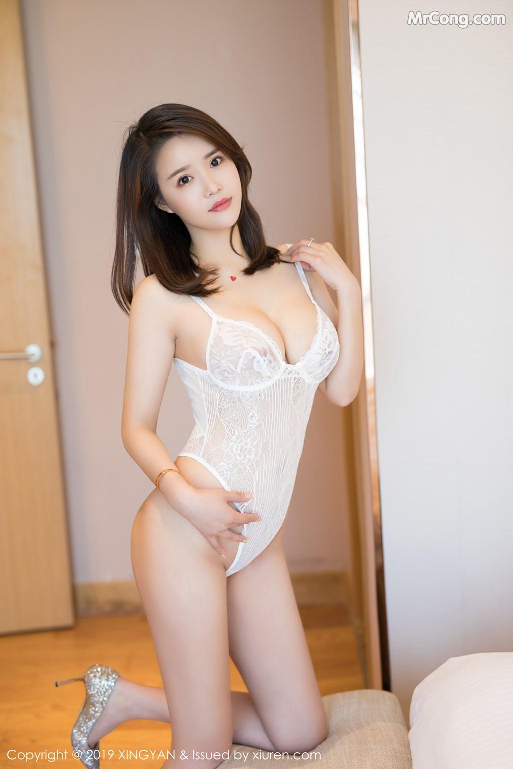 Image XingYan-Vol.118-Vily-MrCong.com-006 in post XingYan Vol.118: Vily豆豆 (49 ảnh)
