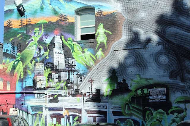 Downtown LA Graffiti Murals