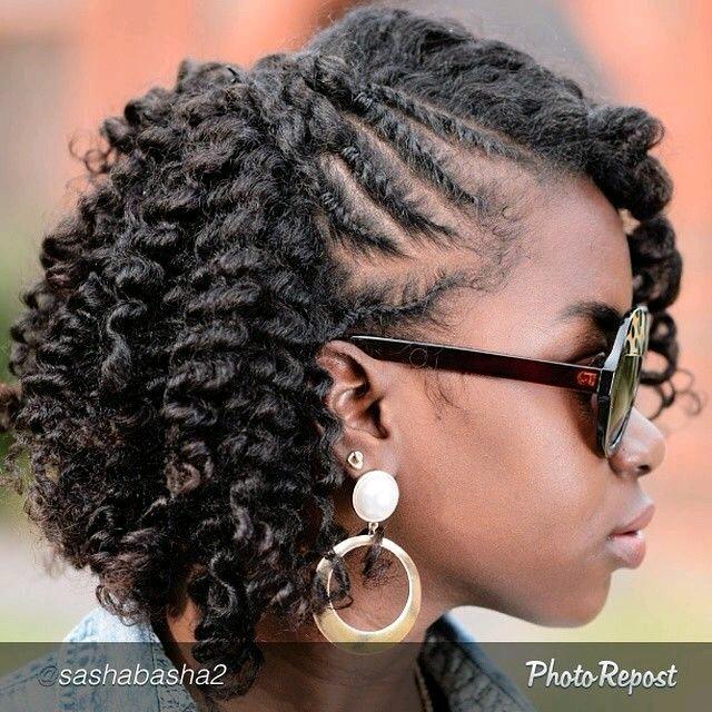 Peinados Afro Con Trenzas