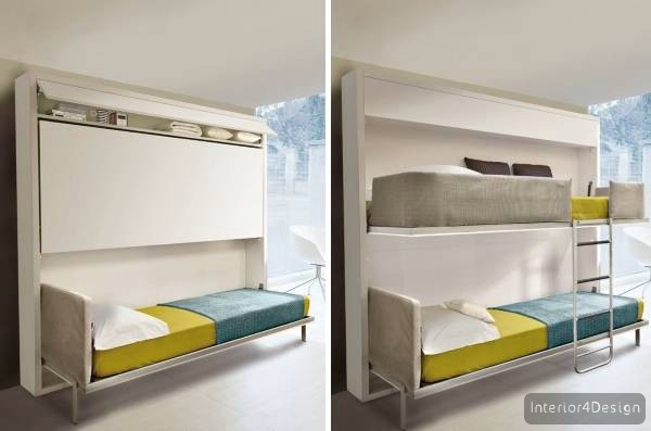 Furniture Transformers For Small Apartment - 40 Photos