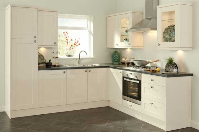 kitchen set bentuk L minimalis