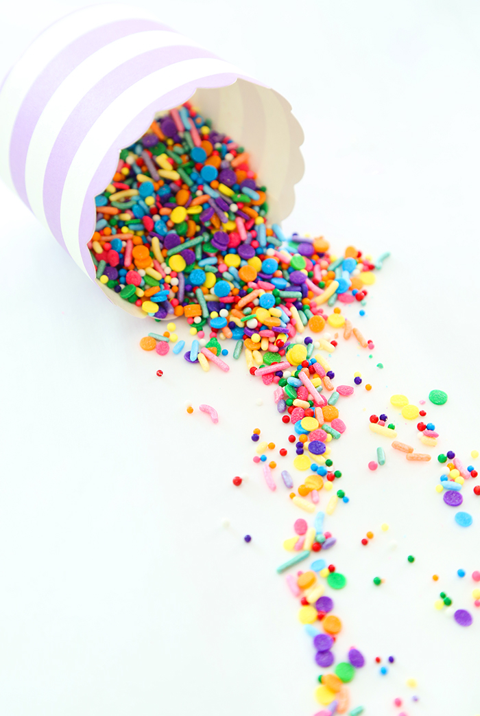 Giant Confetti Cookie Cup Sprinkle Bakes