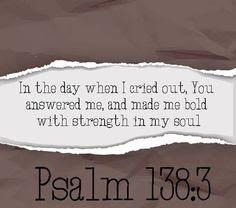 Leef je geloof: God wil je bemoedigen en sterken