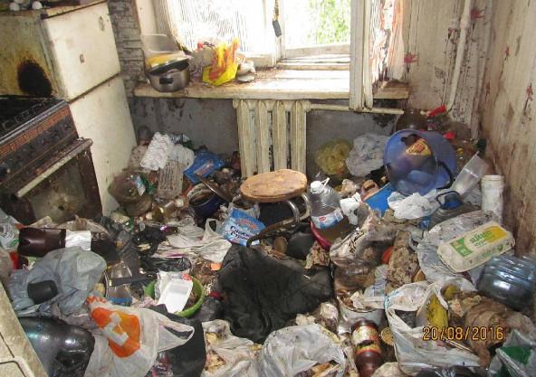 Rumah bagus yang penuh dengan sampah