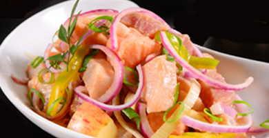 receta ceviche salmon peruano