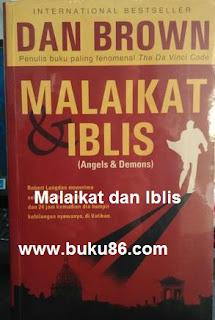 Buku Malaikat dan Iblis Dan Brown Bekas