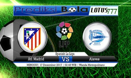 PREDIKSI SKOR Atl. Madrid vs Alaves 17 Desember 2017